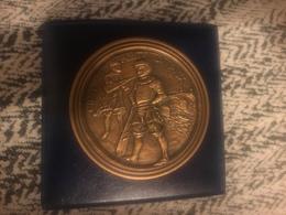 1989 Associazione Amici Gioco Del Ponte Pisa Consiglio Degli Anziani Medaglia In Bronzo Grande Modulo - Bronzes