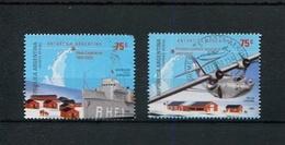 ANTARTIDA ARGENTINA. 50 AÑOS DE LA BASE ESPERANZA. AÑO 2002 ARGENTINA GJ 3187 - 3188 MNH COMPLETE SET -LILHU - Forschungsstationen