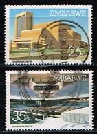 ZIMBABWE / Oblitérés/Used / 1986 - Centre Des Conférences D'Harare - Zimbabwe (1980-...)