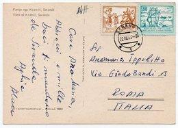 ALBANIE/ALBANIA - VIEW OF KSAMIL, SARANDA - Albania