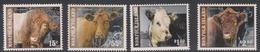 Norfolk Island ASC 1012-1015 2008 Calves Of Norfolk, Mint Never Hinged - Norfolk Island