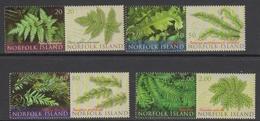 Norfolk Island ASC 1020-1027 2008 Endemic Ferns, Mint Never Hinged - Norfolk Island