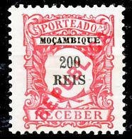 !■■■■■ds■■ Mozambique Postage Due 1916 AF#29* Local Ovrprt 200 Réis (x1171) - Mozambique