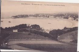 CPA - ST JEAN DE LUZ - La Baie Et La Pointe Ste Barbe - Saint Jean De Luz