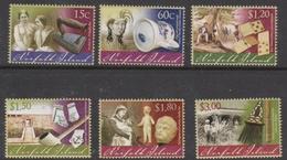 Norfolk Island ASC 1096-1101 2011 Museum Artifacts Part 2, Mint Never Hinged - Norfolk Island