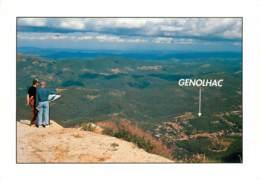 GENOLHAC Le Belvedere Des Bouzedes 6(scan Recto-verso) MD2541 - France