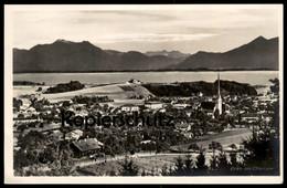 ALTE POSTKARTE PRIEN AM CHIEMSEE TOTALANSICHT TOTAL Gesamtansicht AK Ansichtskarte Postcard Cpa - Chiemgauer Alpen