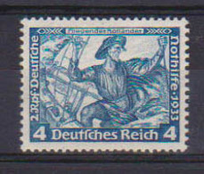 GERMANIA REICH 1933 OPERE DI WAGNER UNIF. 471  MLH VF - Neufs