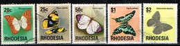 RHODESIE /Oblitérés/Used /1974 - Série Courante / Papillons - Rhodesia (1964-1980)