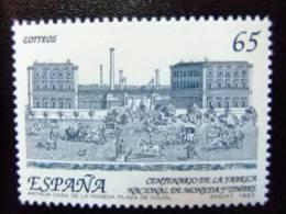 Espana Espagne 1993 Centenario Fabrica De Moneda Y Timbre Edifil 3266 ** Yvert 2858 ** MNH - 1931-Hoy: 2ª República - ... Juan Carlos I