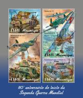 Z08 MOZ190121a Mozambique 2019 World War II MNH ** Postfrisch - Mosambik