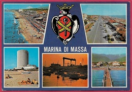 CPM Multivues ITALIE ITALIA - MARINA Di MASSA Toscana - Massa