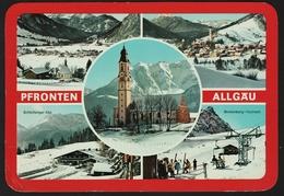 Pfronten  -  Mehrbildkarte  Ansichtskarte Ca.1982    (groß) - Pfronten