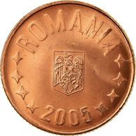 Monnaie, Roumanie, 5 Bani, 2005, Bucharest, SUP, Copper Plated Steel, KM:190 - Roumanie