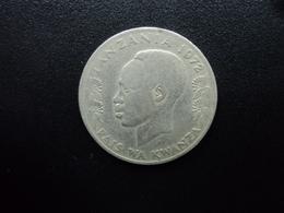 TANZANIE : 1 SHILINGI   1972    KM 4    TB / TTB - Tanzanie