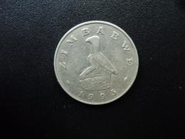 ZIMBABWE : 50 CENTS    1993    KM 5     TTB - Zimbabwe
