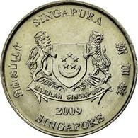 Monnaie, Singapour, 20 Cents, 2009, Singapore Mint, TTB, Copper-nickel, KM:101 - Singapour