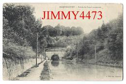 CPA - Entrée Du Canal Souterrain - MAQUINCOURT ( Arr. De St-Quentin ) 02 Aisne - Edit. A. Béal Fils Cambrai -Recto-Verso - Saint Quentin