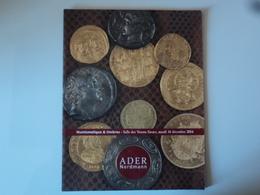 ADER NORDMANN : Numismatique & Timbres - Salle Des Ventes Favart , Mardi 16 Décembre 2014 * - Livres & Logiciels