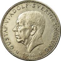 Monnaie, Suède, Gustaf VI, 5 Kronor, 1966, SUP+, Argent, KM:839 - Suède