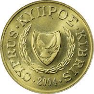 Monnaie, Chypre, 2 Cents, 2004, SUP, Nickel-brass, KM:54.3 - Chypre