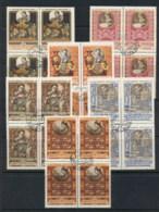 Russia 1957-58 Handicrafts  Blk4 CTO - 1923-1991 USSR