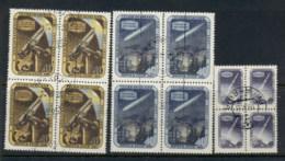 Russia 1957 Intl. Geophysical Year Blk4 CTO - 1923-1991 USSR