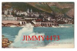 CPA - Vue Générale Tir Aux Pigeons Par Coup De Mer En 1925 - MONTE CARLO Monaco - Edit. GILETTA Nice N°745 - Recto-Verso - Monte-Carlo