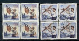 Russia 1958 Pioneers, Model Plane Blk4 CTO - 1923-1991 USSR