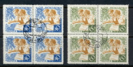 Russia 1958 Day Of Soviet Youth Blk4 CTO - 1923-1991 USSR