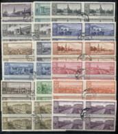 Russia 1958 Capitals Of The Soviet Republics Blk4 CTO - 1923-1991 USSR