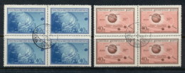 Russia 1959 Space, Luna 1 & Globe Blk4 CTO - 1923-1991 USSR