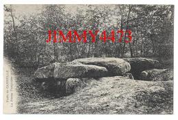 CPA - La Pierre Turquoise Forêt De CARNELLE En 1906  ( Arr. De Pontoise ) 95 Val D' Oise - Edit. Illisible - Recto-Verso - Pontoise