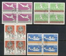 Russia 1959 Spartakist Sports Blk4 CTO - 1923-1991 USSR