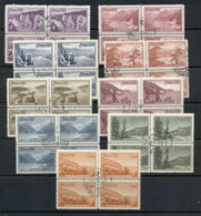 Russia 1959 Views Blk4 CTO - 1923-1991 USSR