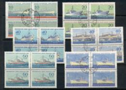 Russia 1959 Honouring The Russian Fleet, Ships Blk4 CTO - 1923-1991 USSR