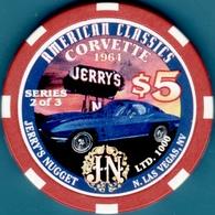 $5 Casino Chip. Jerry's Nugget, Las Vegas, NV. I04. - Casino