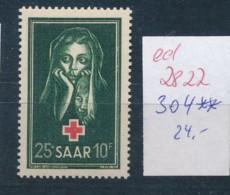 Saar  Nr. 304   **   (ed2822 ) Siehe Scan - 1947-56 Occupation Alliée