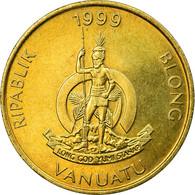Monnaie, Vanuatu, 5 Vatu, 1999, British Royal Mint, TTB, Nickel-brass, KM:5 - Vanuatu