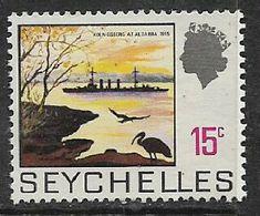 Seychelles, 1964, 15 Cents (Koenigsberg) MH * - Seychelles (...-1976)
