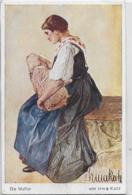 AK 0172  Katz , Irma - Die Mutter / Kriegspatenschat Ca. Um 1915 - Pintura & Cuadros