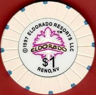 $1 Casino Chip. Eldorado, Reno, NV. I05. - Casino