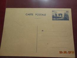 Entier Postal  Arc De Triomphe - Cartes Postales Types Et TSC (avant 1995)