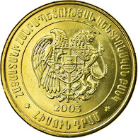 Monnaie, Armenia, 50 Dram, 2003, SUP, Brass Plated Steel, KM:94 - Arménie