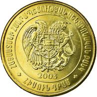 Monnaie, Armenia, 50 Dram, 2003, SUP, Brass Plated Steel, KM:94 - Armenia
