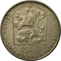 Monnaie, Tchécoslovaquie, 50 Haleru, 1983, TTB, Copper-nickel, KM:89 - Tchécoslovaquie