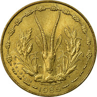 Monnaie, West African States, 5 Francs, 1985, Paris, TTB - Ivory Coast