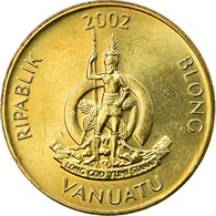 Monnaie, Vanuatu, Vatu, 2002, British Royal Mint, TTB, Nickel-brass, KM:3 - Vanuatu