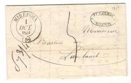 14605 - MIREPOIX Type 13 - Storia Postale