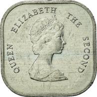 Monnaie, Etats Des Caraibes Orientales, Elizabeth II, 2 Cents, 1989, TTB - Caraïbes Orientales (Etats Des)